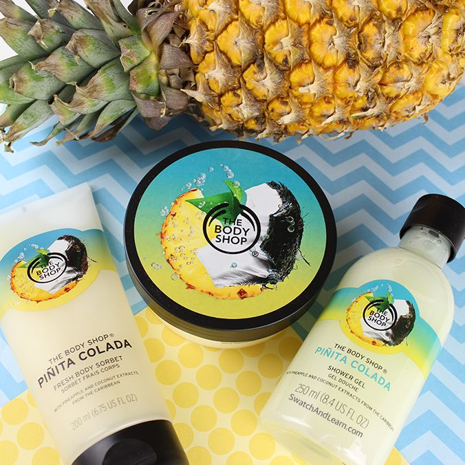 Buy The Body Shop's Piñata Colada products now!